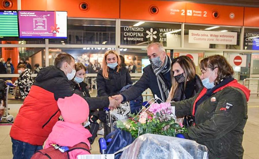 Gmina Gołcza przyjęła repatriantów z Kazachstanu