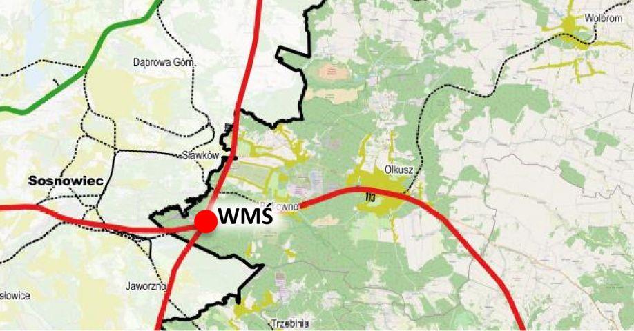 Plany rozbudowy sieci linii kolejowych na terenie powiatu olkuskiego