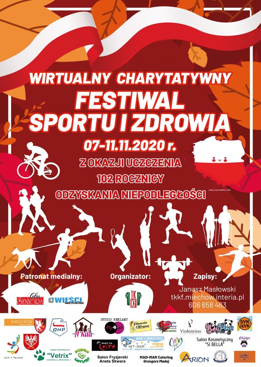 I Wirtualny, Charytatywny Festiwal Sportu i Zdrowia