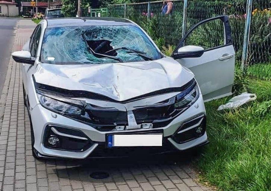 Pijany kierowca śmiertelnie potrącił pieszego i uciekł z miejsca wypadku