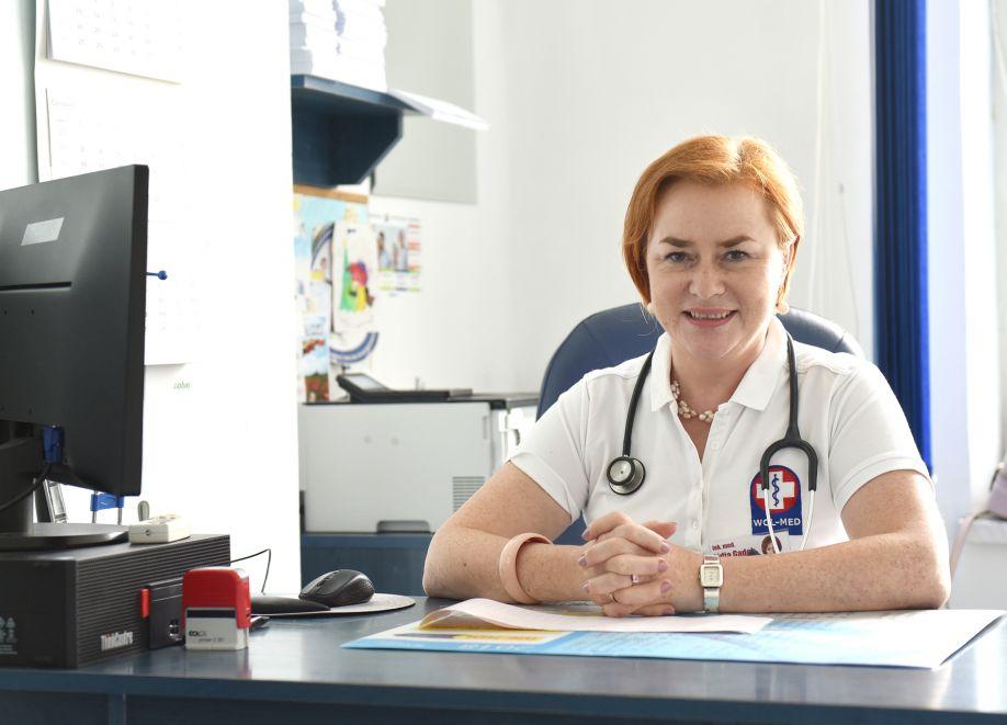O koronawirusie z prezesem Miejsko - Gminnego Centrum Medycznego WOL-MED, lek. med. Lidią Gądek