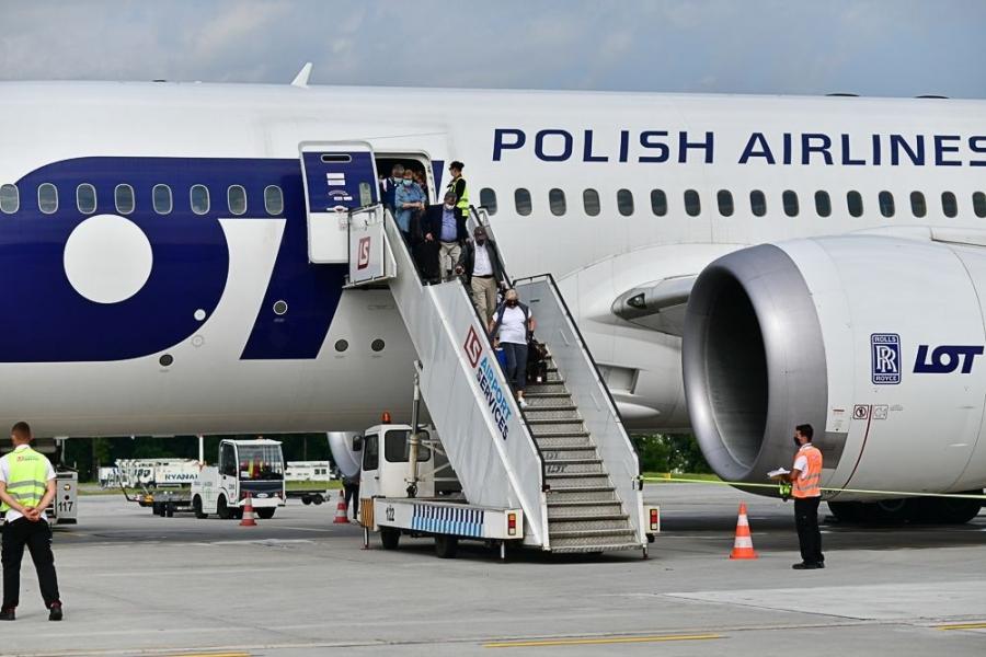Inauguracja połączenia z Krakowa do Nowego Jorku