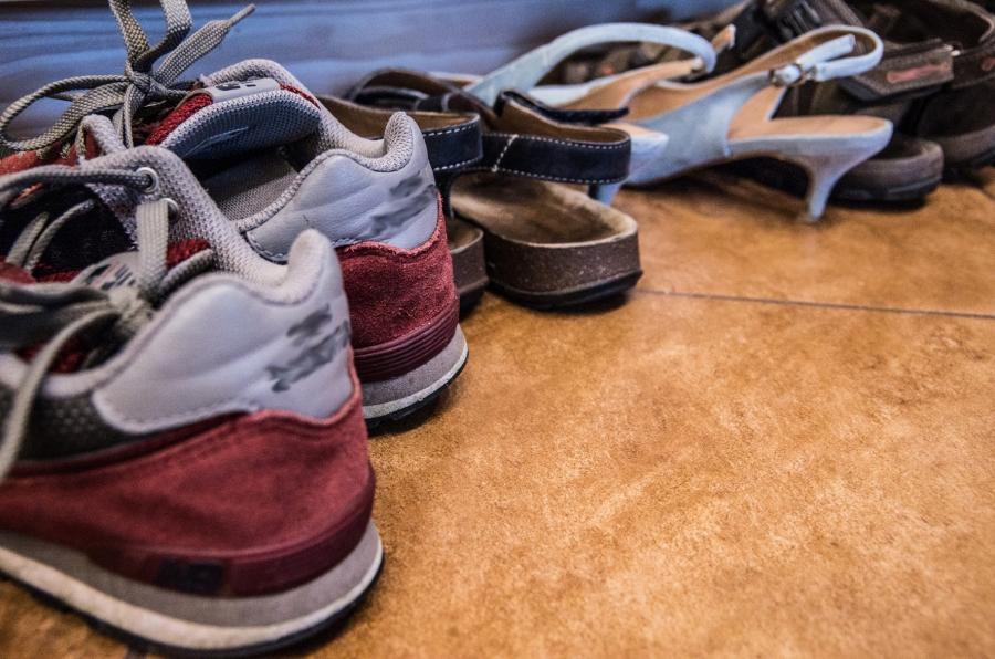 Złodzieje kradną nawet buty