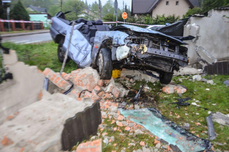 Wypadek w Bukownie