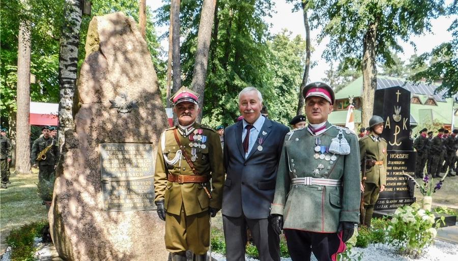 """Medal """"Pro Patria"""" dla Stanisława Osmendy"""