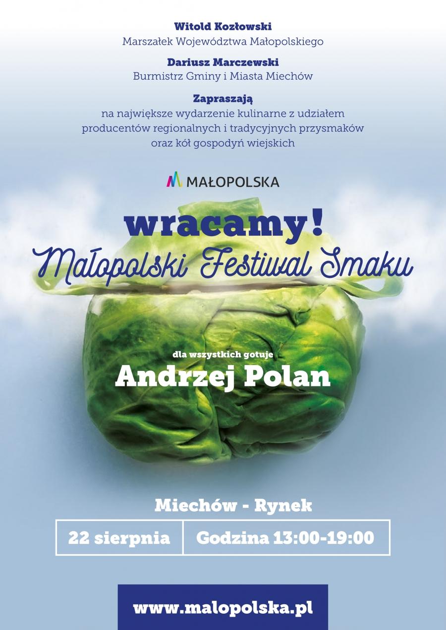 Małopolski Festiwal Smaku w Miechowie