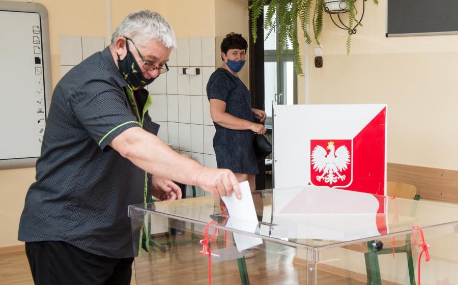 Pierwsza tura wyborów prezydenckich w powiecie miechowskim