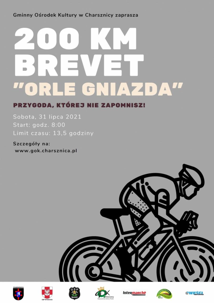 """""""ORLE GNIAZDA"""" - Brevet 206 km"""