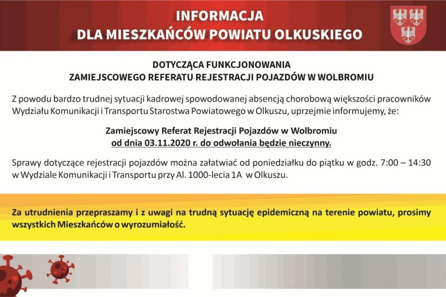 Rejestracja pojazdów w Olkuszu