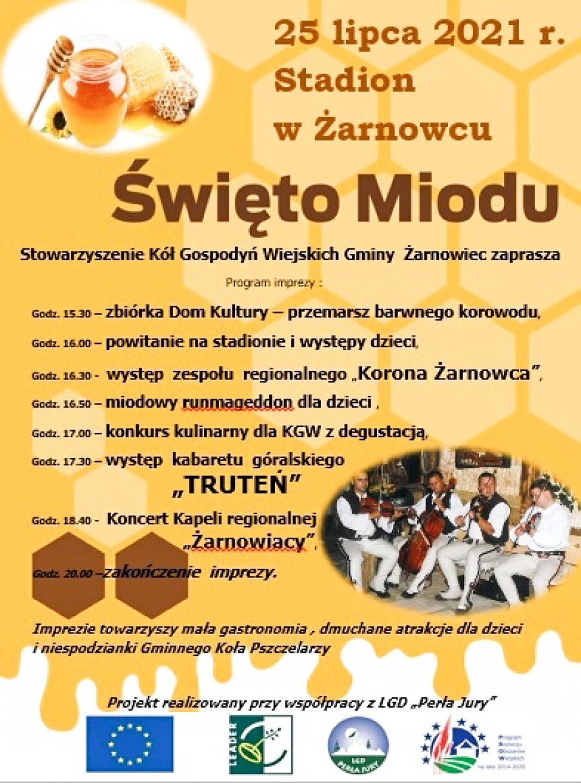 Święto miodu w Żarnowcu - 25.07.2021 r.