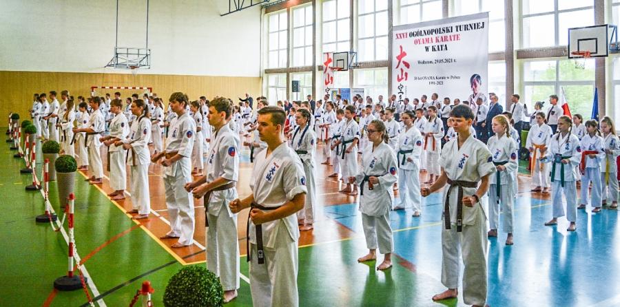 XXVI Ogólnopolski Turniej OYAMA Karate w Kata
