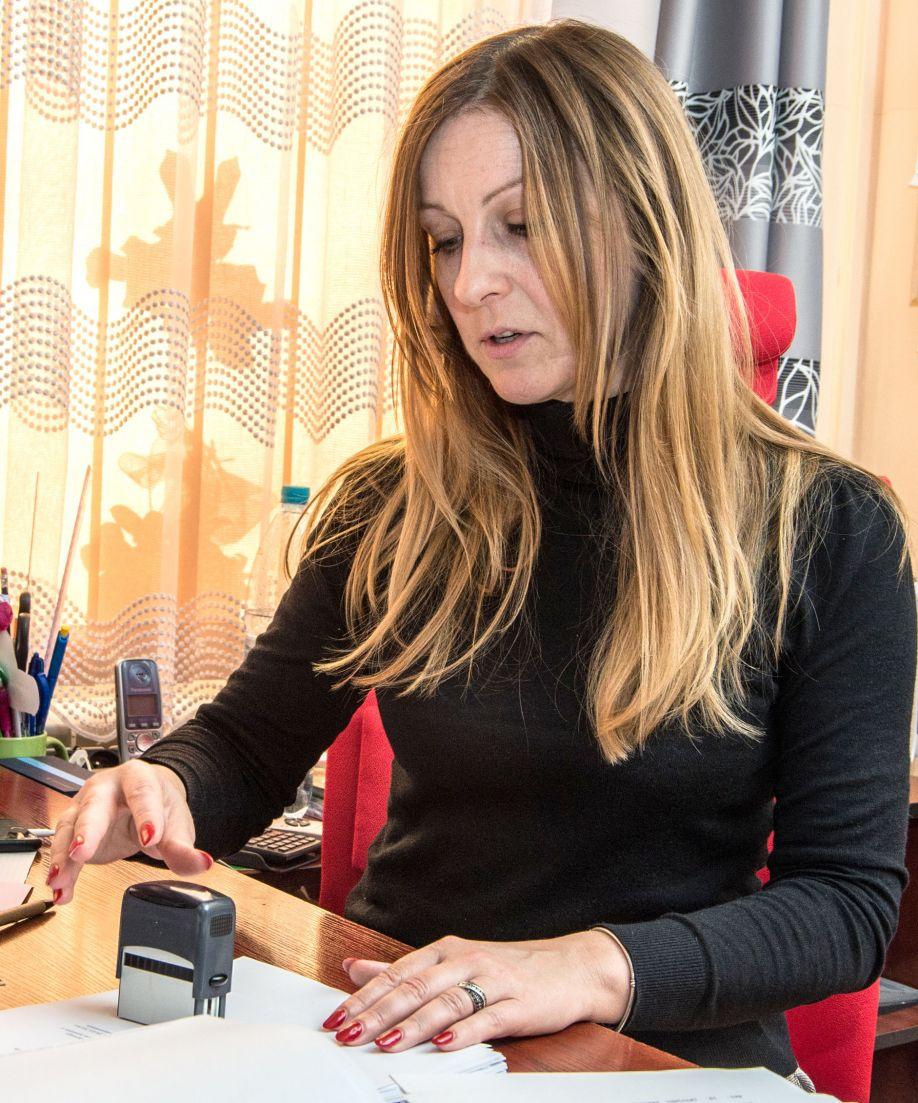 Marta Vozsnak jest panią wójt w Słaboszowie – jedyną kobietą na tym stanowisku w powiecie miechowskim i olkuskim