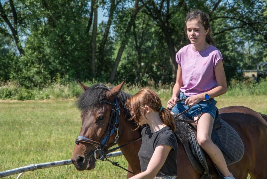 Sieć ścieżek konnych północnej Małopolski