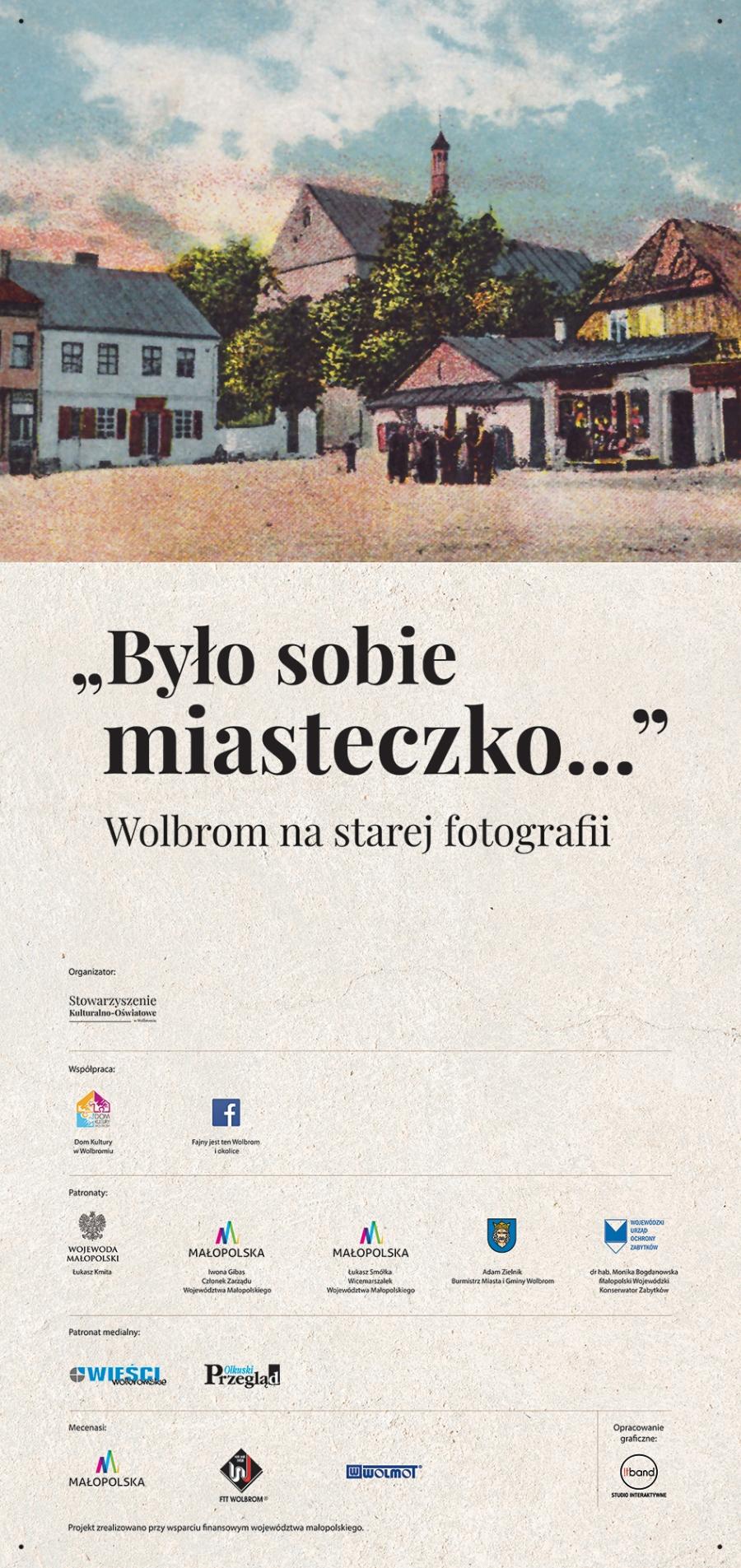 Wolbrom na starej fotografii - wystawa czynna od dzisiaj na płycie rynku