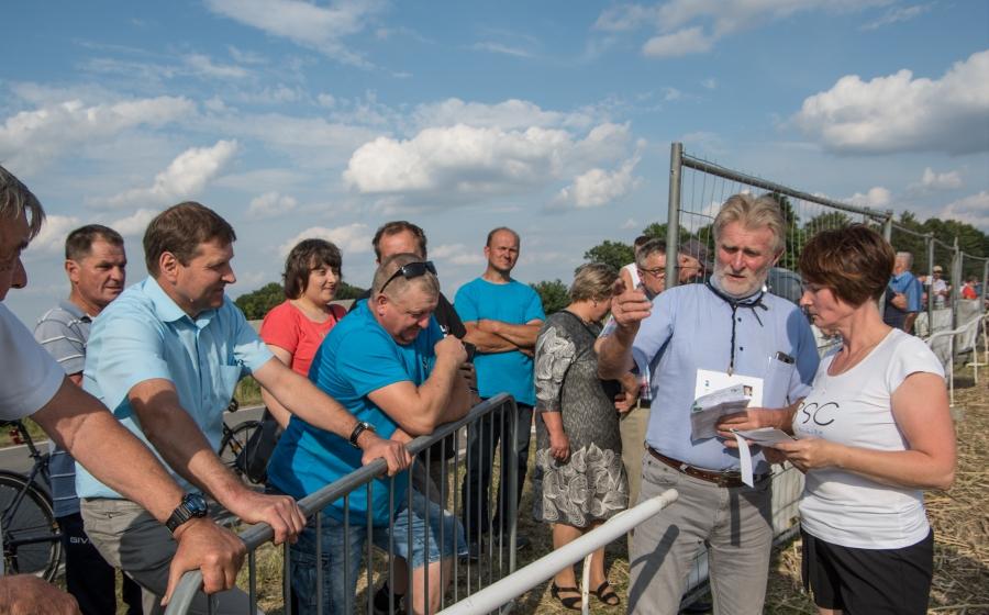 Wyścigi na ściernisku w Łobzowie