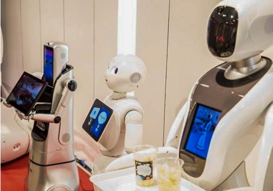 Wakacyjna międzynarodowa wystawa robotów