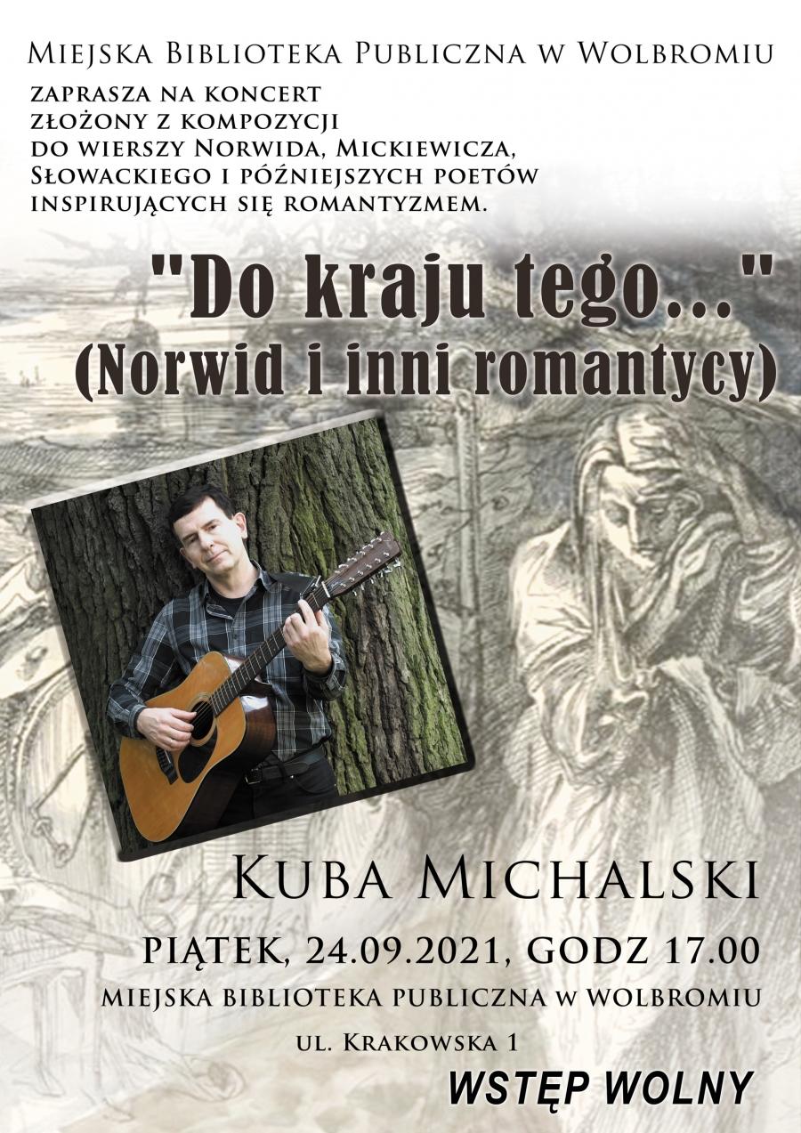 Poezja Norwida, Mickiewicza, Słowackiego w wolbromskiej bibliotece