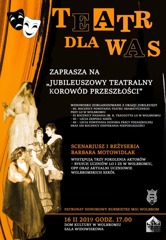 Jubileuszowy Teatralny Korowód Przeszłości