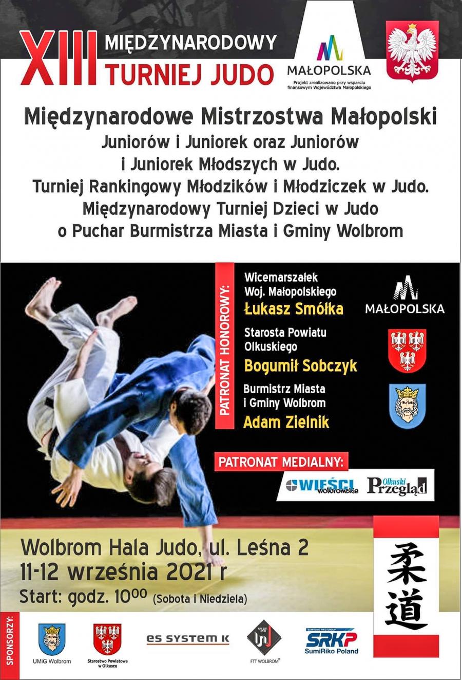 XIII Międzynarodowy Turniej Judo w Wolbromiu