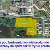 Nowy teren pod budownictwo wielorodzinne w Wolbromiu