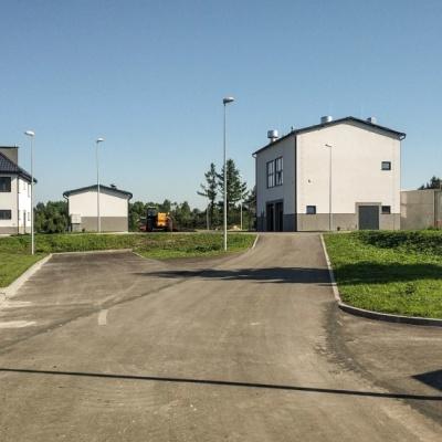 Przebudowa i rozbudowa (modernizacja) oczyszczalni ścieków w Wolbromiu
